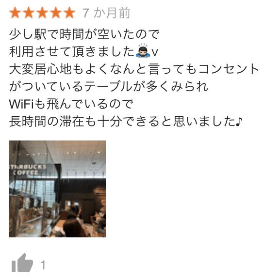 東京駅日本橋口店の口コミ2